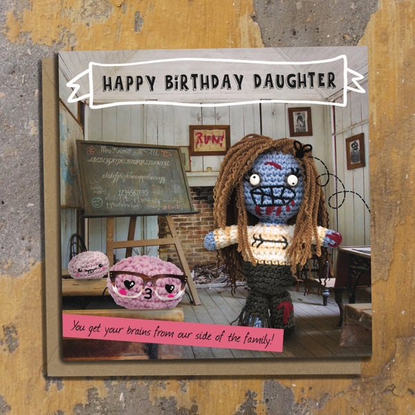 The Dead Thread™ Daughter Birthday Card