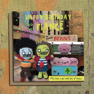 The Dead Thread™ Fiancé Birthday Card