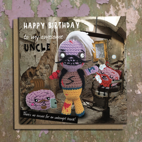 The Dead Thread™ Uncle Birthday Card