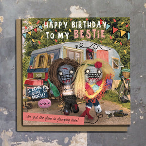The Dead Thread™ Bestie Birthday Card
