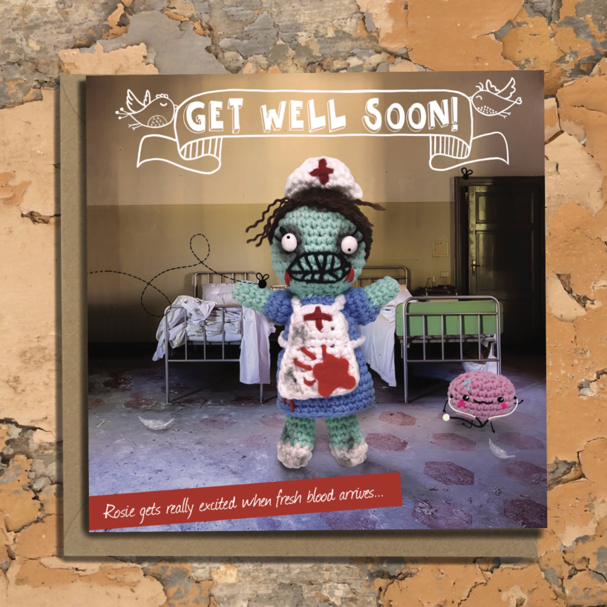 The Dead Thread™ Get Well Card
