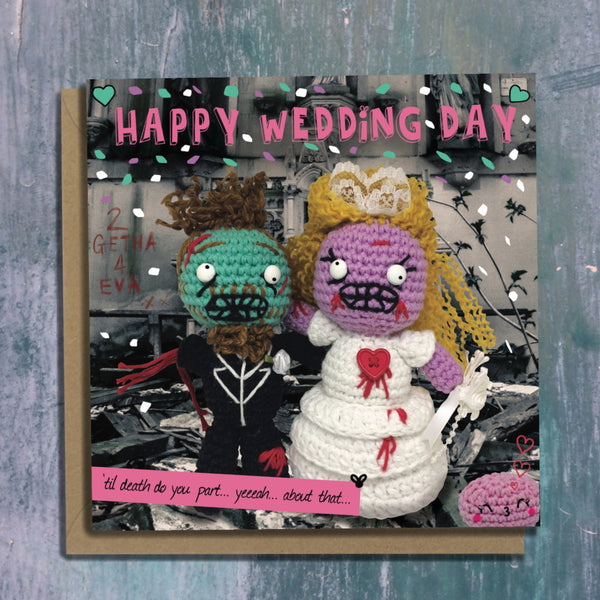 The Dead Thread™ Wedding Card