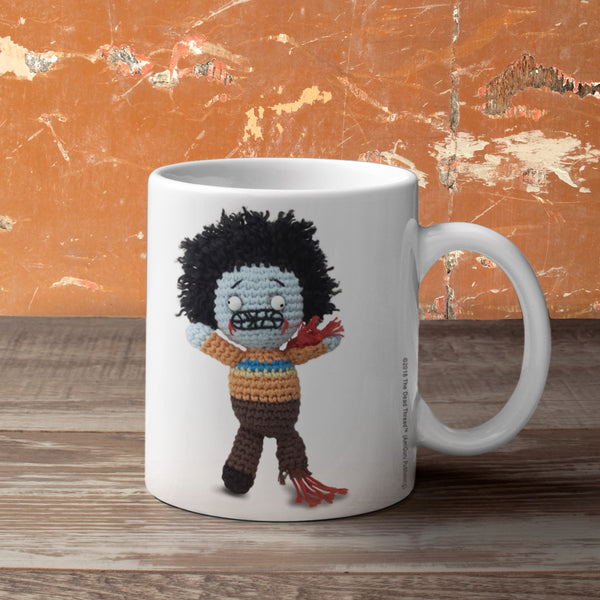The Dead Thread™ Drop Dead Gorgeous mug (Male zombie)