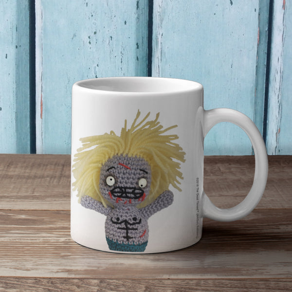 You Should See Me Before Coffee! (Male zombie) Mug from The Dead Thread™.
