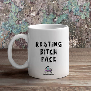 Resting Bitch Face (Female zombie) Mug from The Dead Thread™