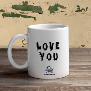 Love You (Male zombies) Mug from The Dead Thread™