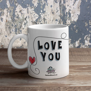 Love You (Male & female zombies) Mug from The Dead Thread™