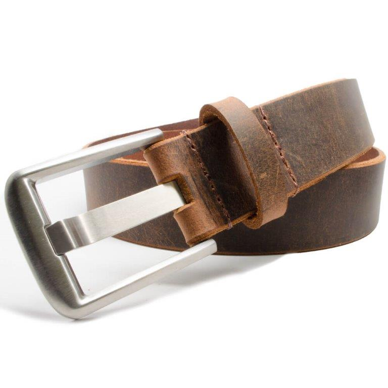 b5abe0c873a23 Titanium Belts - Hand cut and sewn with genuine leather. Made in USA