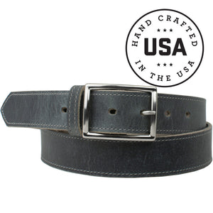 Entrepreneur Titanium Belt, Nickel Smart, Gray Belt, Work Belt, Made in the USA, Titanium Buckle