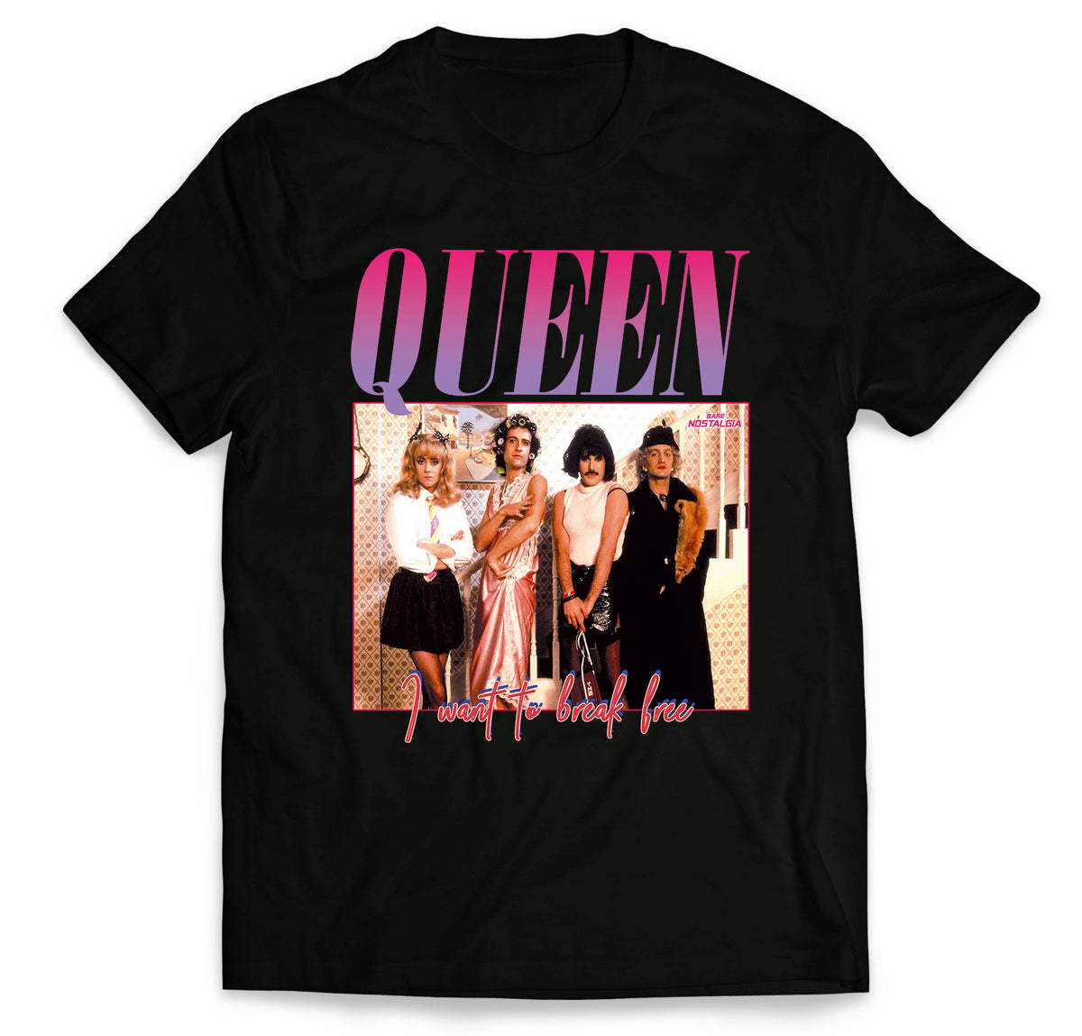 f09a93fc Queen T-Shirt and Sweat – Bare Nostalgia