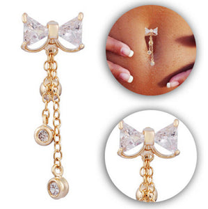 Bowknot Belly Button Ring