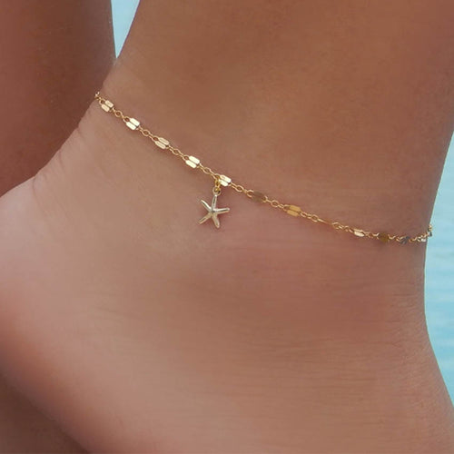 Women Mini Star Anklet
