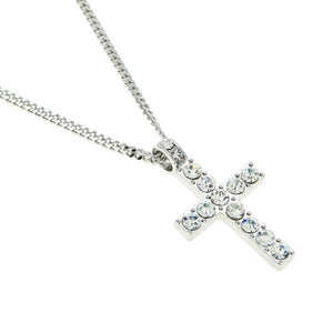Alloy Cross Pendant Necklace