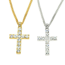 Load image into Gallery viewer, Alloy Cross Pendant Necklace
