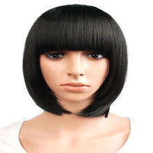 Load image into Gallery viewer, Short Straight Hair Wig