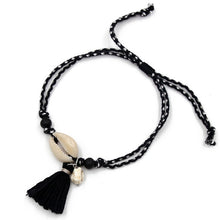 Load image into Gallery viewer, Shell Tassel Anklet