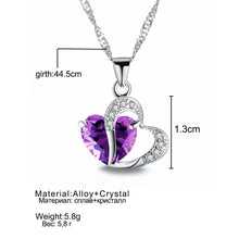Load image into Gallery viewer, Fashion Heart Pendant Necklace
