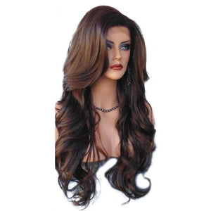 Long Shaggy Synthetic Wig