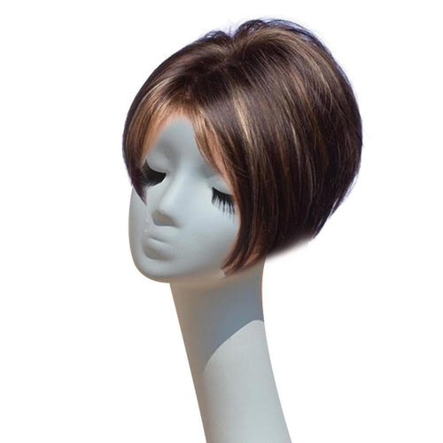 Wig Female Bob Wigs Straight Hair Wigs For Women Short Hairpieces Brown Bob Wig