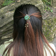 Load image into Gallery viewer, Flower Pendant Hair Brooch