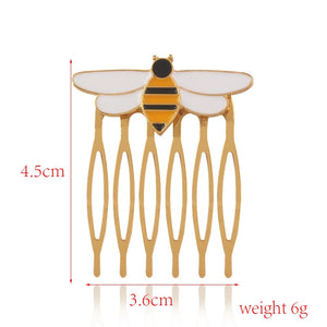 Queen Bee Hair Brooch
