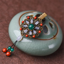 Load image into Gallery viewer, Women Hairpin Brooch