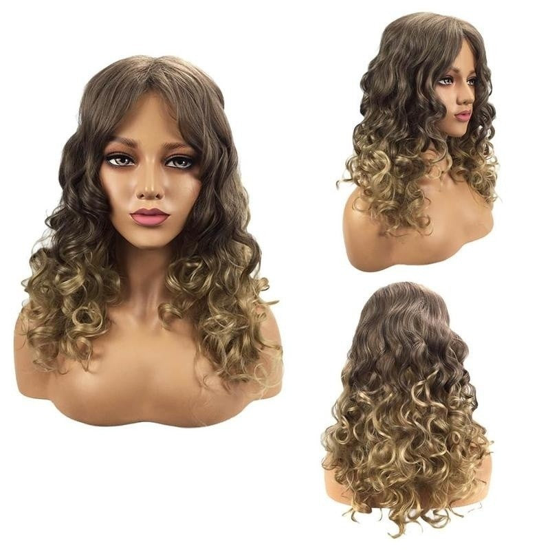 Brown Synthetic Lace Front Wigs Glueless Lace Front Wig For Women