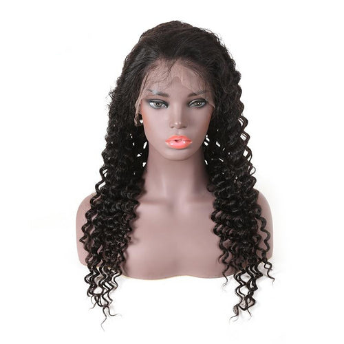Deep Wave Natural Wig