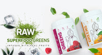 Baba Greens - raw superfood greens