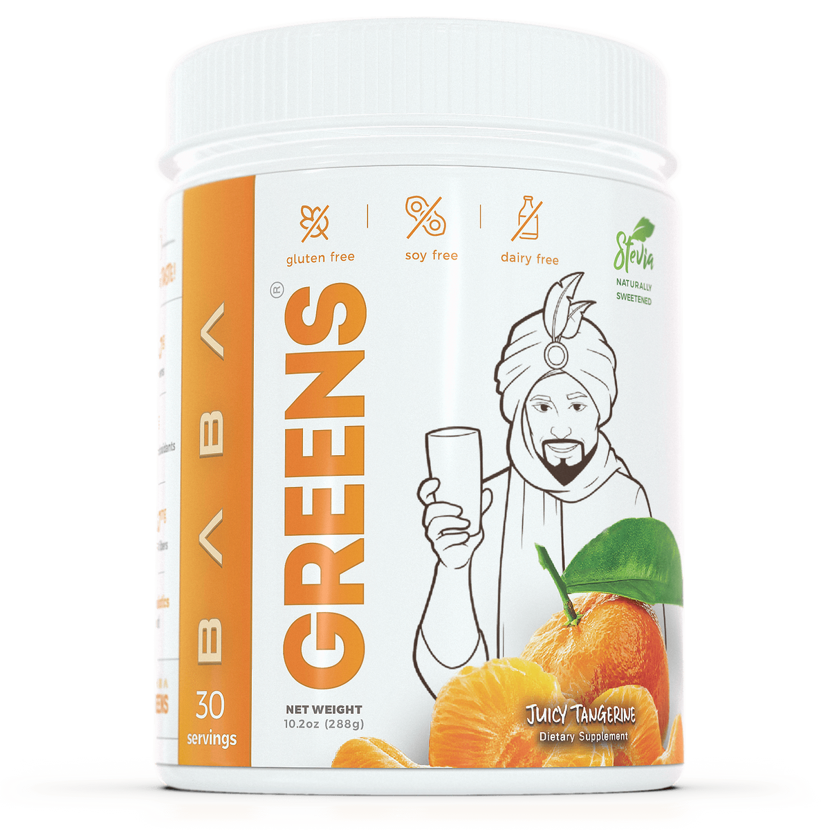 Baba Greens - Juicy Tangerine - 10.2oz