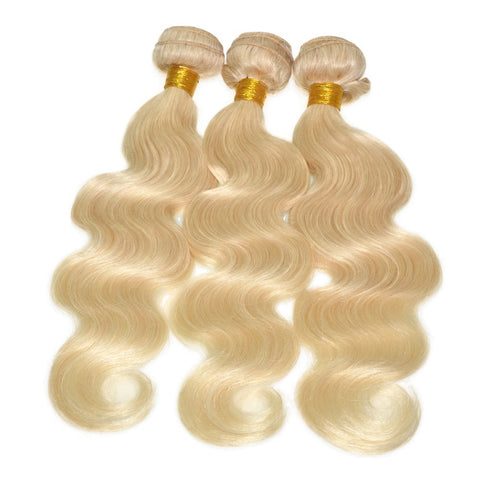 Platinum Blonde 613 3 Bundle Deal With Frontal Dgv Hair Company
