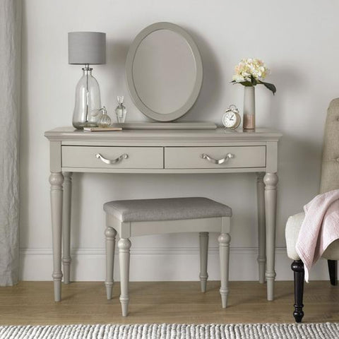 Marseilles Dressing Table Mirror Urban Grey