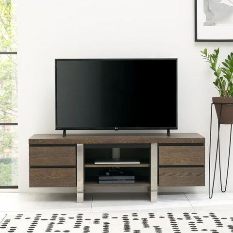 Toulouse Dark Oak Tv Stand