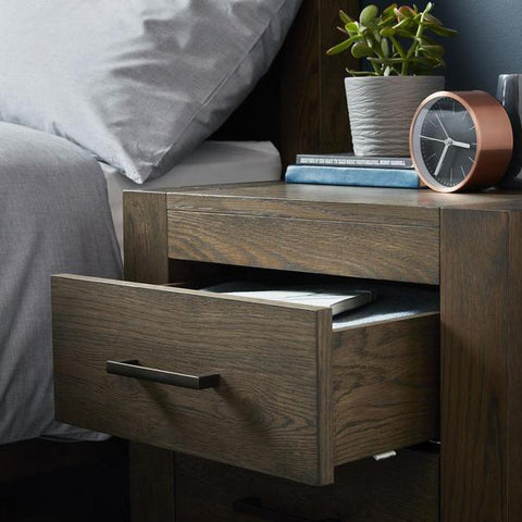 NCF Living Tuscany Wooden Bedside Table
