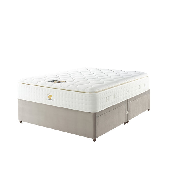 Divan Base including Latex Pillow Top 5000 Mattress