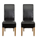 Hudson Dining Chair Black (Pair)