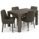 Tuscany Dark Oak Small End Extension Table