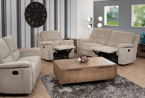 Siena 3 Seater Sofa Manual Recliner