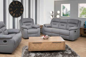 Como 2 Seater Manual Recliner