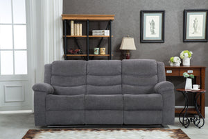 Casa 3 Seater Manual Recliner