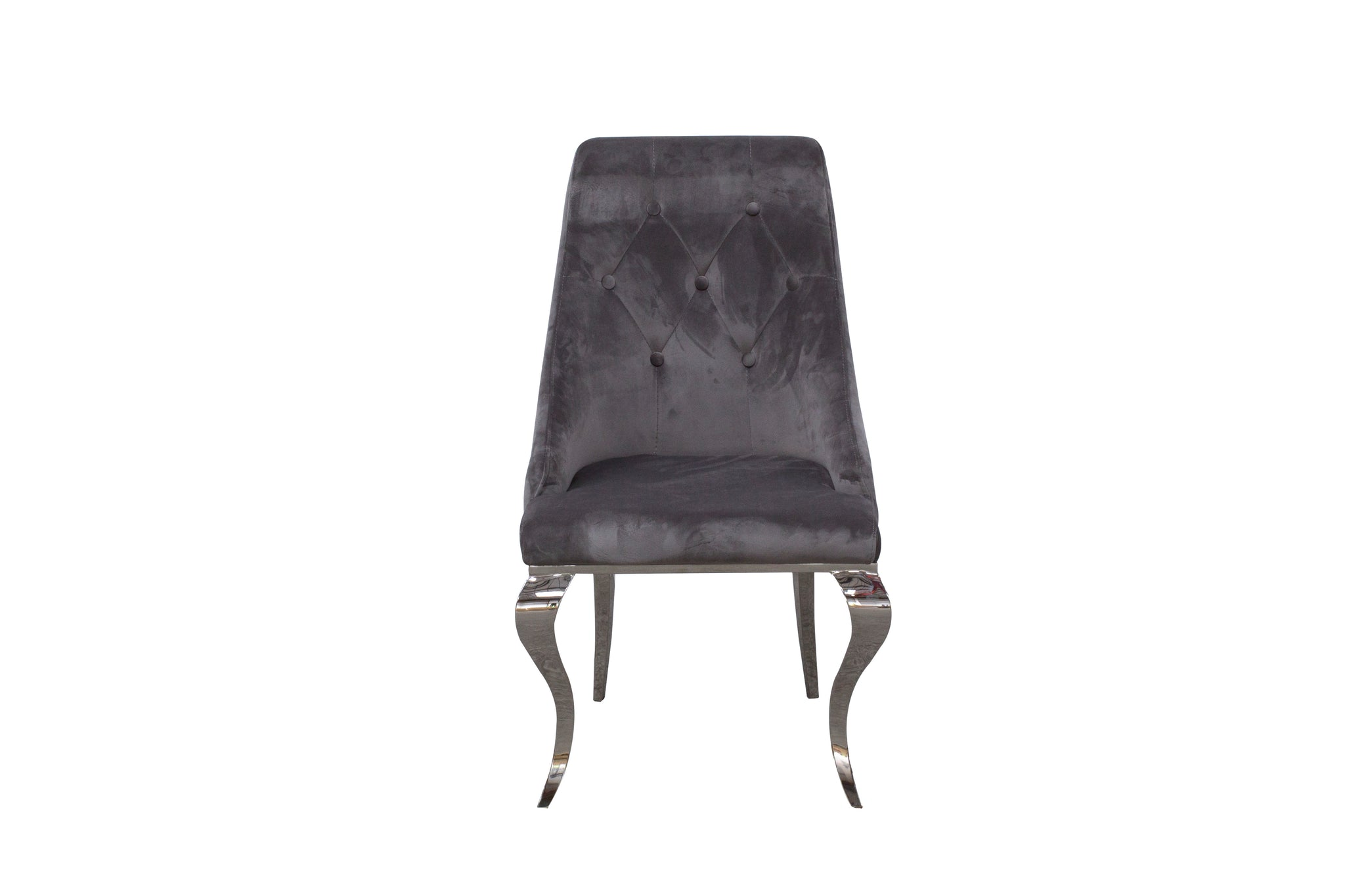 Cassia Dining Chair Grey  (Pair)