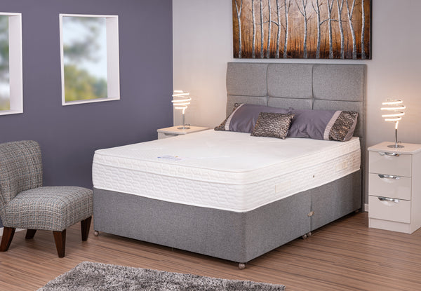 Divan Base including Comfort Gel 2000 Mattress