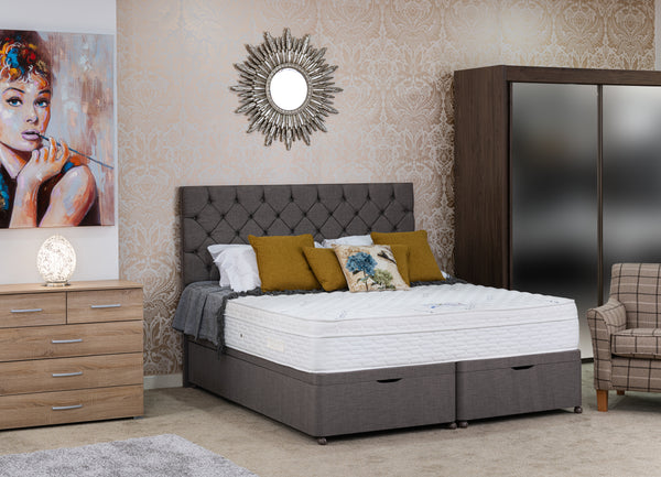 Divan Base including Cotswold 2000 Mattress