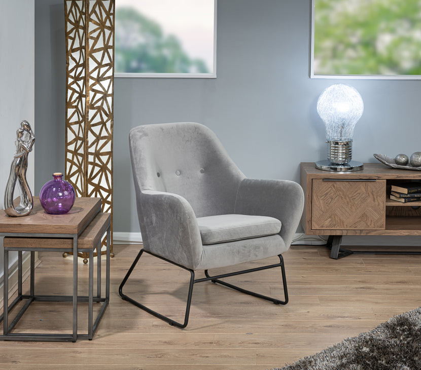 Dare Accent Chair (Grey)