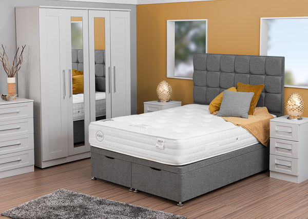 Divan Base including Eco Firm Mattress