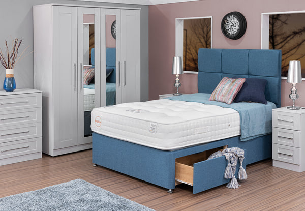 Divan Base including Eco Medium Mattress