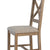 Horus Cross Back Chair (Pair)