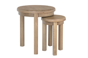 Horus Round Nest of Tables
