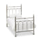 Krystal Shiny Nickel Bedframe