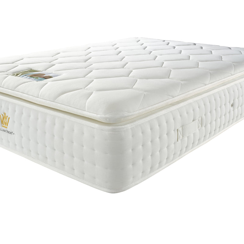 Luxury Visco 3000 Mattress Full Close Up